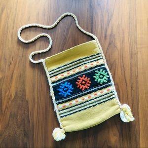 Hand Woven Made In Greece Crossbody Bag